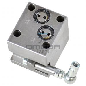 Rexroth V388532000 Manifold with pressure valve