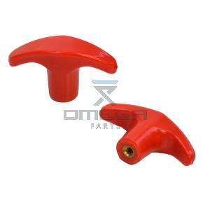 Mantall 021109Y100 Pulling knob (red)  - E Down Cable