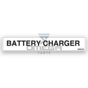 GMG  268553-EN GMG Decal battery charger EN