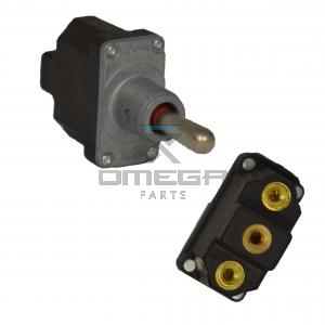 UpRight / Snorkel 012798-000 Toggle Switch - 3 pos - spring return to center - SPDT