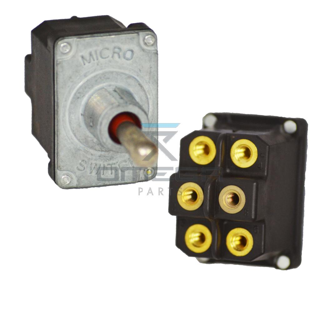 Grove Manlift  7872000358 Toggle switch, 3 pos - spring return centre