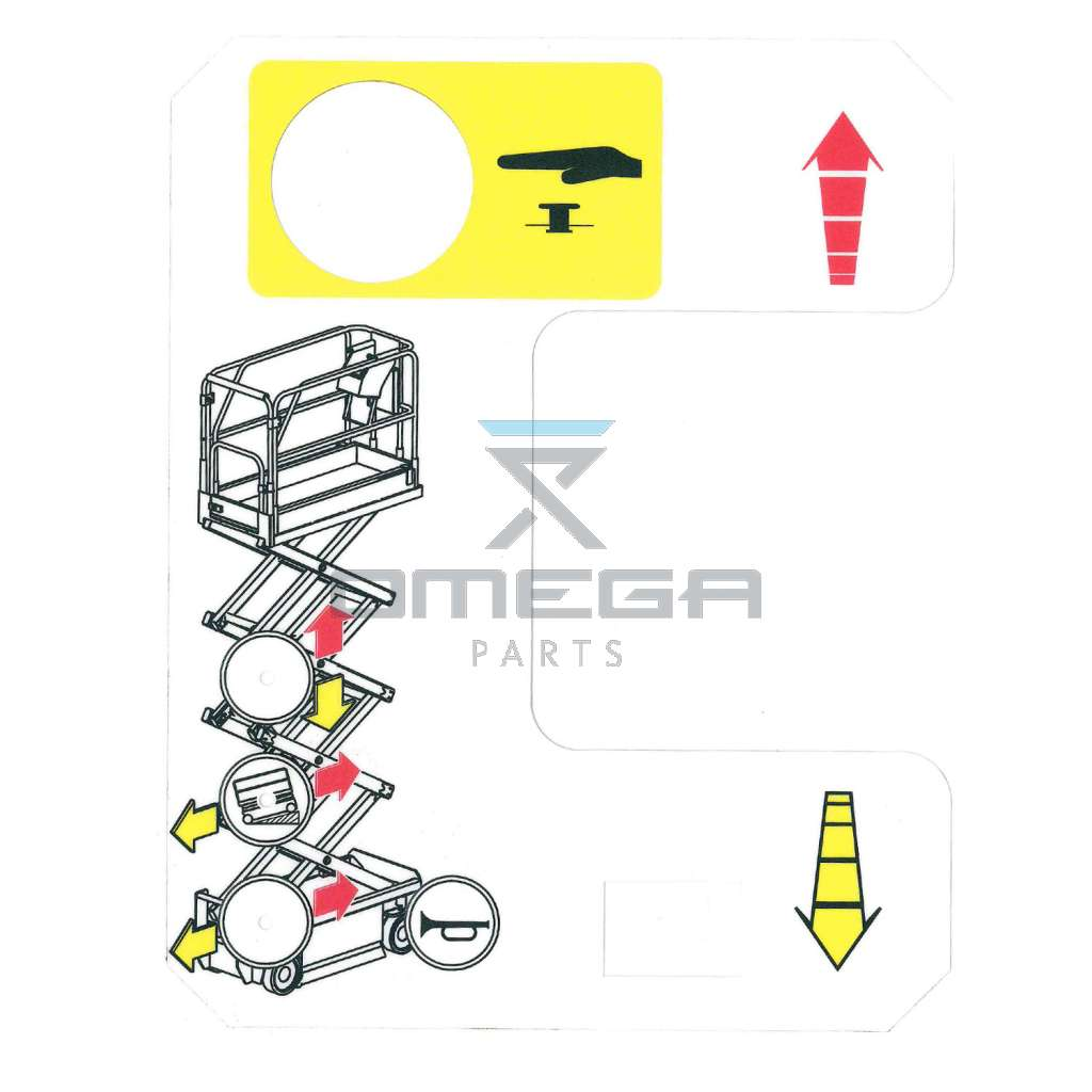 UpRight / Snorkel 502486-000 Decal