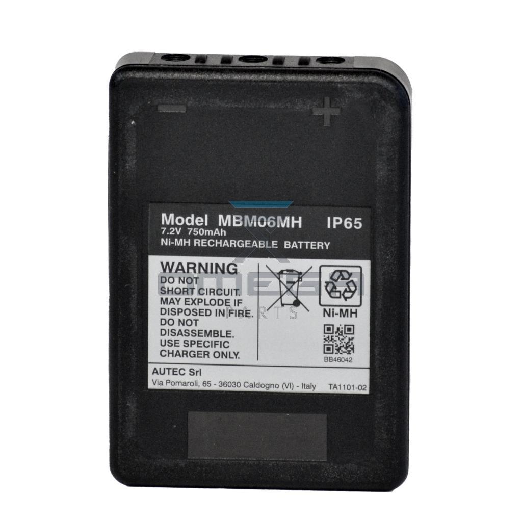 Autec  MBM06MH Battery 7,2V 750mAh IP65