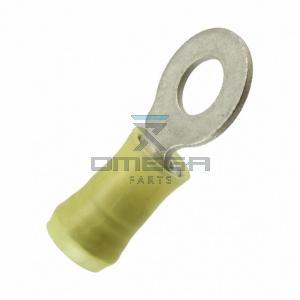 OMEGA  121048 Terminal - ring M6 - yellow