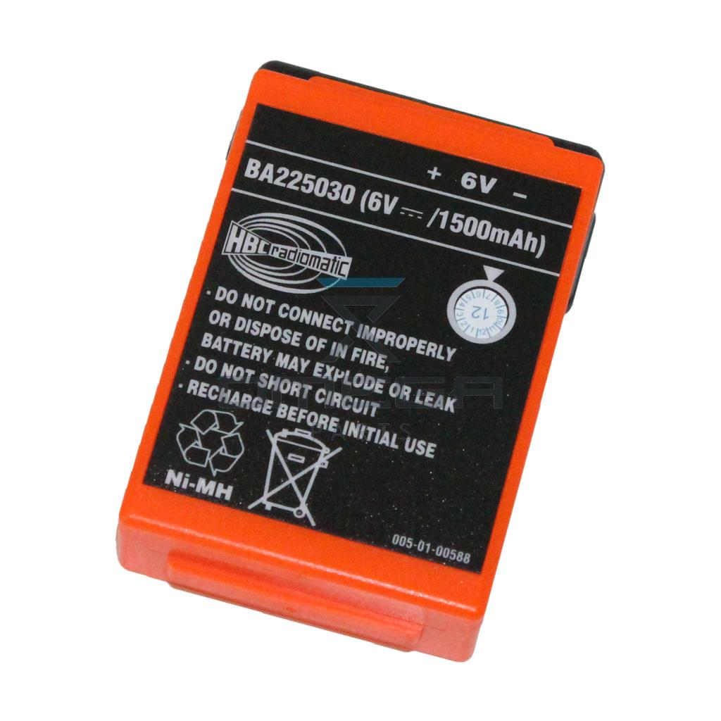HBC Radiomatic BA225030 Battery NiMH 6V 1500mAh