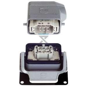 OMEGA  128220 Socket and plug 6 pol (kit)