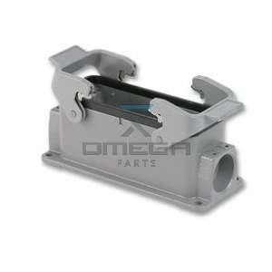 OMEGA  130024 Housing connector 24 pos Harting
