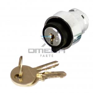 Mantall  051003C063 Key Switch 3pos - key in all 3 pos removable