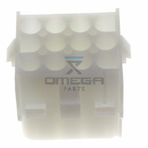 OMEGA 130418 Connector receptacle housing 12way