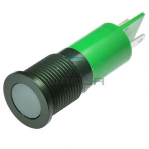 OMEGA  132714 LED Green - 16mm - 12V