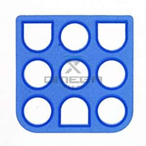 OMEGA 136104 Interface seal 9 way