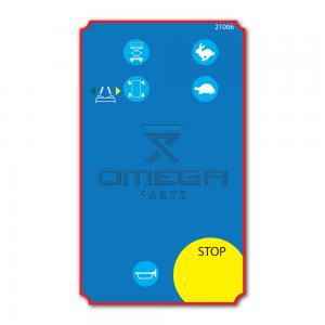 GMG 21006 Decal - upper control box
