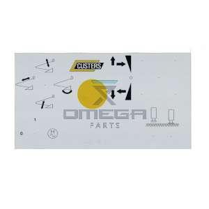 Custers  9906585915 Decal upper controls NL