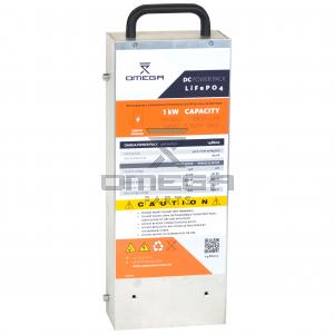 OMEGA 148600 DC Power box - LifePo4 - 12/24Vdc - 1kW