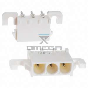 Omega Infra BV 164912 Connector - 3 way - solder connected