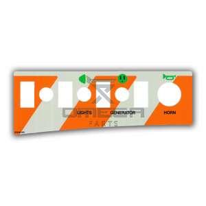 UpRight / Snorkel 100340-003 Decal upper controls aux