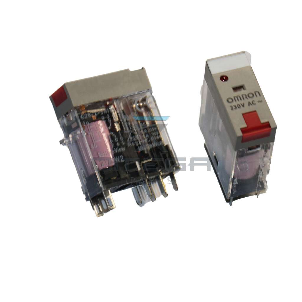 OMEGA  168516 Omron relay 220Vac double contact