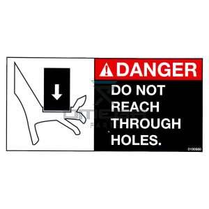 UpRight / Snorkel 0190989 decal danger do not reach