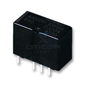 OMEGA  193522 Relay 24Vdc - DPDT - for PCB