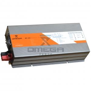 OMEGA  193790 True sinus DC AC convertor - 12Vdc input - 230Vac output - 1500 Watt