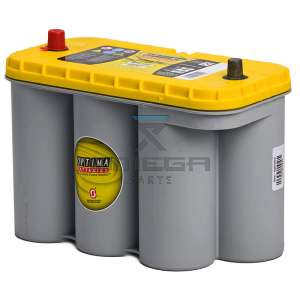Omega Platforms  193840 Battery - 12 V - 75 Ah Optima Yellow top - high power start