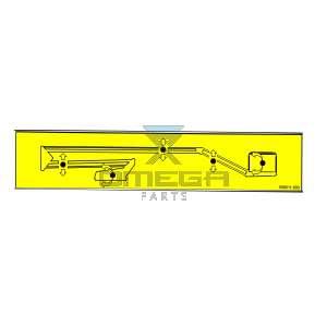 UpRight / Snorkel 508511-000 Decal -  upper controls - TL37