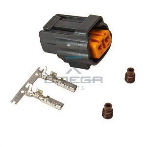 Kubota 1C010-65830 Connector - 2 way - kit