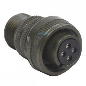 OMEGA  239064 Connector - 4way - size 14S - plug  sockets