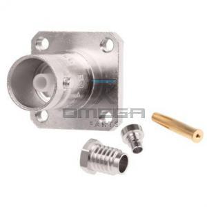 OMEGA  239076 BNC connector - socket - bulkhead