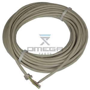 OMEGA  250888 Cable flex - twisted pair - 8x2x1 - colour coded - shielded 