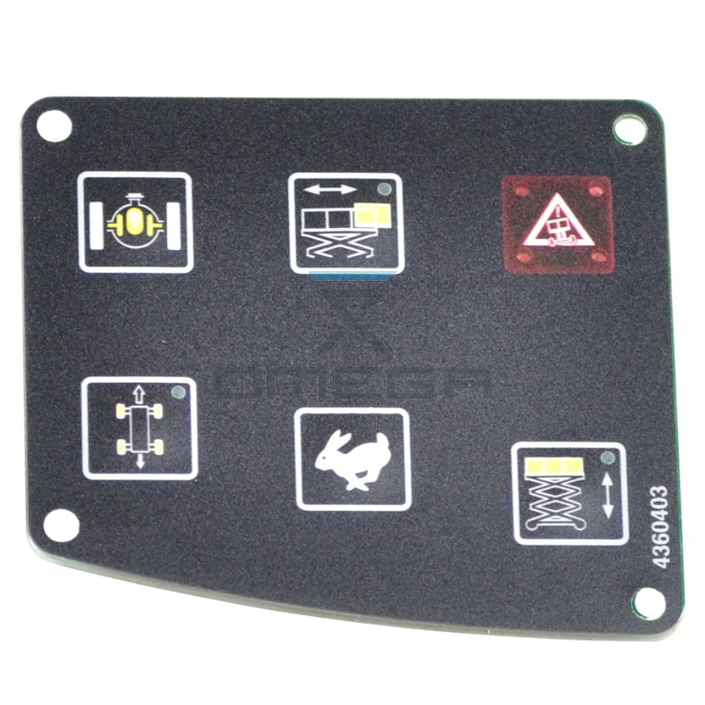 JLG 4360403 Keypad