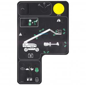 Genie Industries 219723 Decal - lower controls