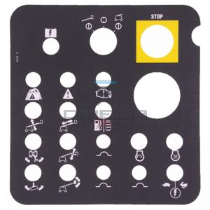 Genie Industries 82455 Decal - control panel