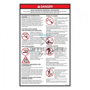 NiftyLift P15227 Decal - instructions