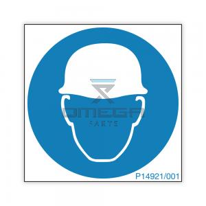 NiftyLift P14921 Decal - hard hat