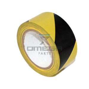 JLG  4420051S Tape - warning - Black / Yellow 36 m
