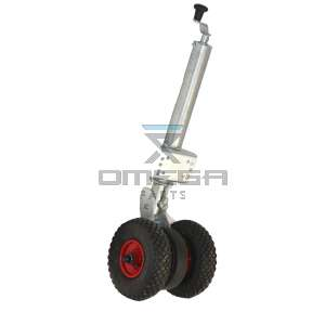 UpRight / Snorkel 510042-000 Heavy duty jockey wheel w/double wheel