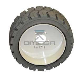 SNORKEL 513430-000 Wheel & tyre ass. - non marking - rear