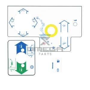Terex  47011-0555 Decal kit