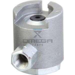 OMEGA  316156 KGR buttonhead coupler 7/8 (22mm)
