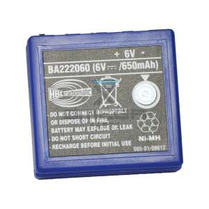 HBC Radiomatic FUB3A Battery FuB 3A / NiMh 6V / 650mAh | blue