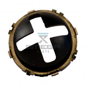 OMEGA 326026 Joystick insert - Cross mal - X-axis - Y-axis