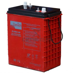 Zenith Batteries ZL060125 Maintenance free battery Zenith ZL060125