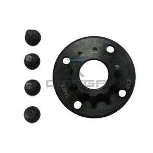 Keijzer Racing Parts  329056 tandwiel T10 X30