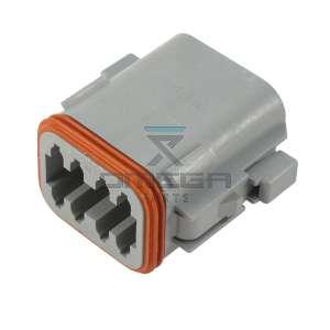 UpRight / Snorkel 514628-000 Plug DT06-08SA