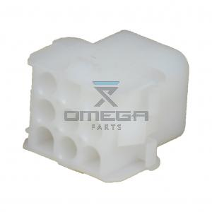 OMEGA 344094 Connector receptacle housing 9way