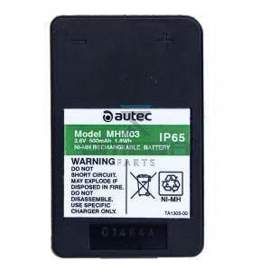 Autec MHM03 Battery - 3,6V - 500mAh - 1,8Wh