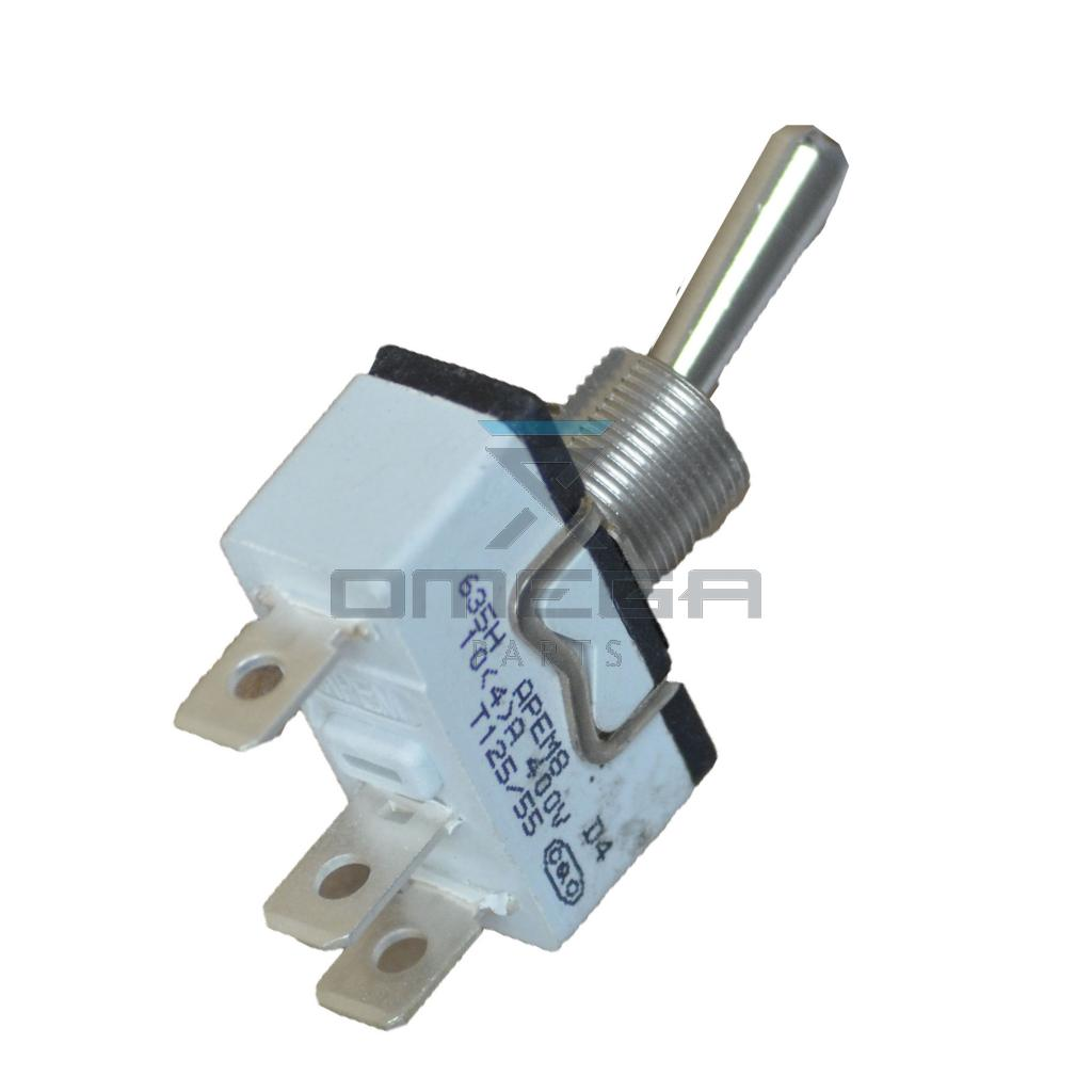 OMEGA  358848 Toggle switch - 2 pos spring return
