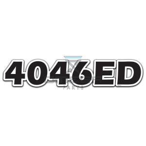 GMG  830132 Decal 4046ED - 522x102mm