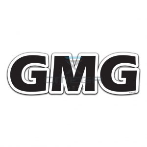 GMG  830142 Decal GMG 330x105mm